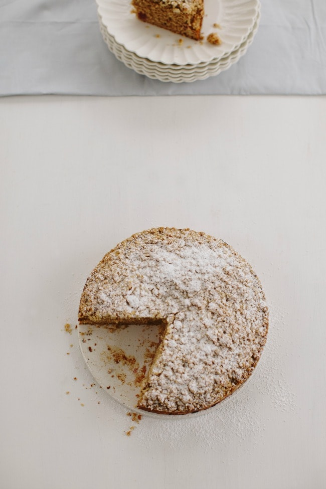 Triple Ginger Coffee Cake