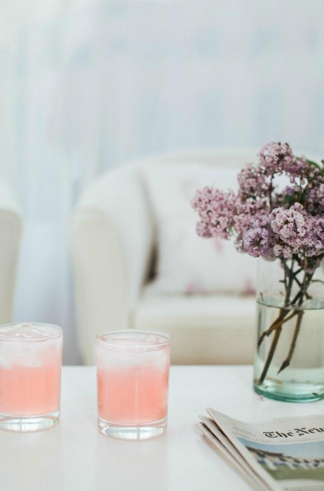 Rhubarb Lemonade Recipe | The Vanilla Bean Blog