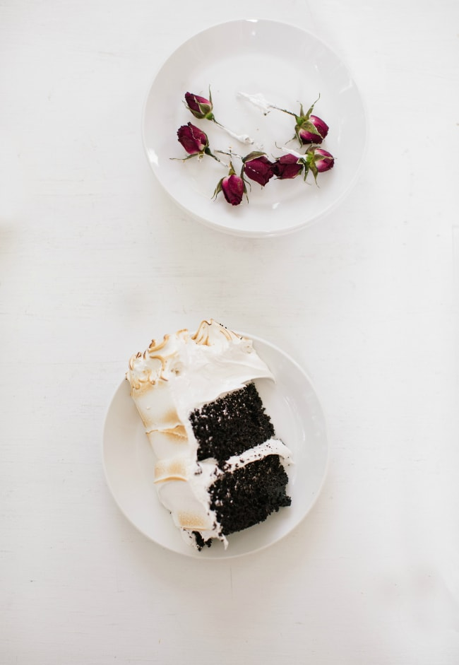 Chocolate Cake with Seven Minute Frosting Recipe | The Vanilla Bean Blog