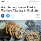 chocolate chip cookies in the new york times!