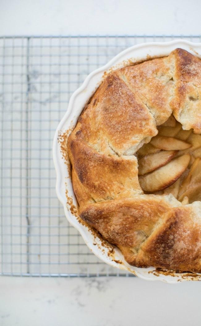 Apple Pie with Crème Fraîche | Sarah Kieffer | The Vanilla Bean Blog