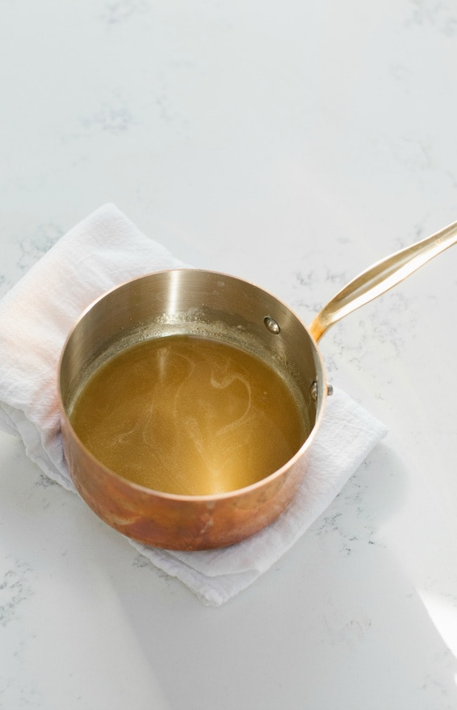 Melted Butter In Pot | Sarah Kieffer