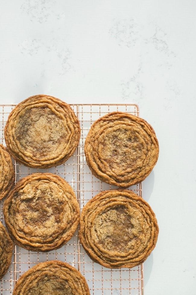 Ginger Molasses Cookies (Pan Banging) Recipe | The Vanilla Bean Blog