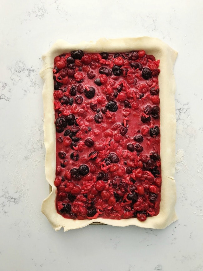 Cherries and Cream Slab Pie Filling | Sarah Kieffer | The Vanilla Bean Blog