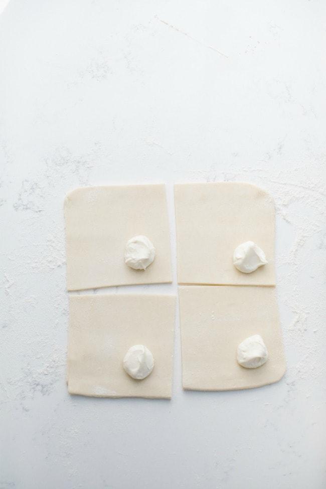 Cream Cheese In Puff Pastry | Sarah Kieffer