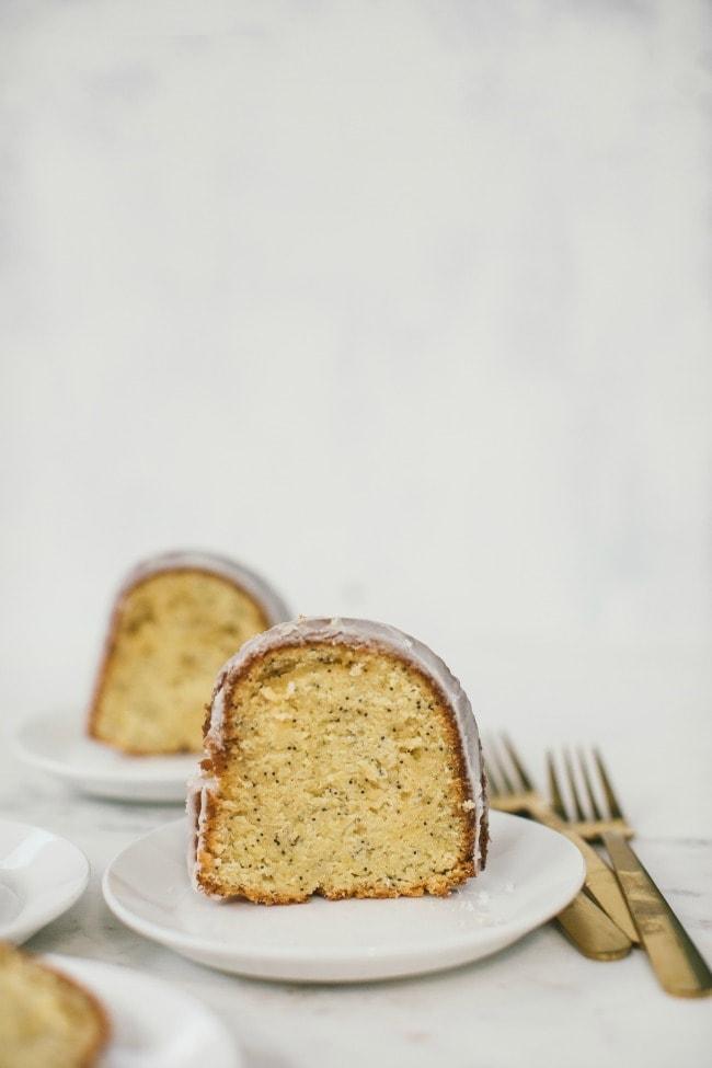 Lemon Poppy Seed Bundt Cake | The Vanilla Bean Blog