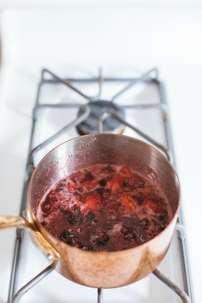 Simmering Fruit | The Vanilla Bean Blog