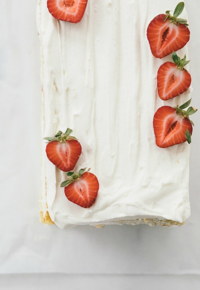 Strawberry Shortcake Cake Recipe | Sarah Kieffer | The Vanilla Bean Blog