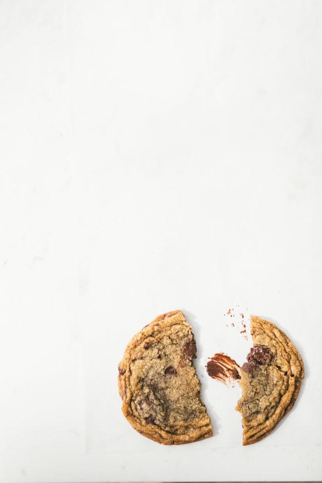 pan banging molasses espresso cookies
