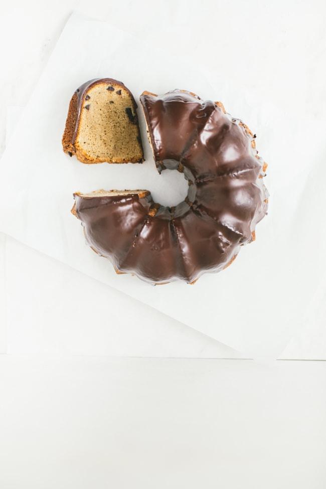 espresso bundt cake