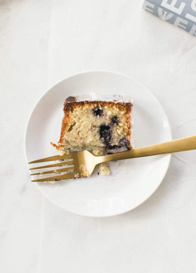 Blueberry Orange Coffeecake