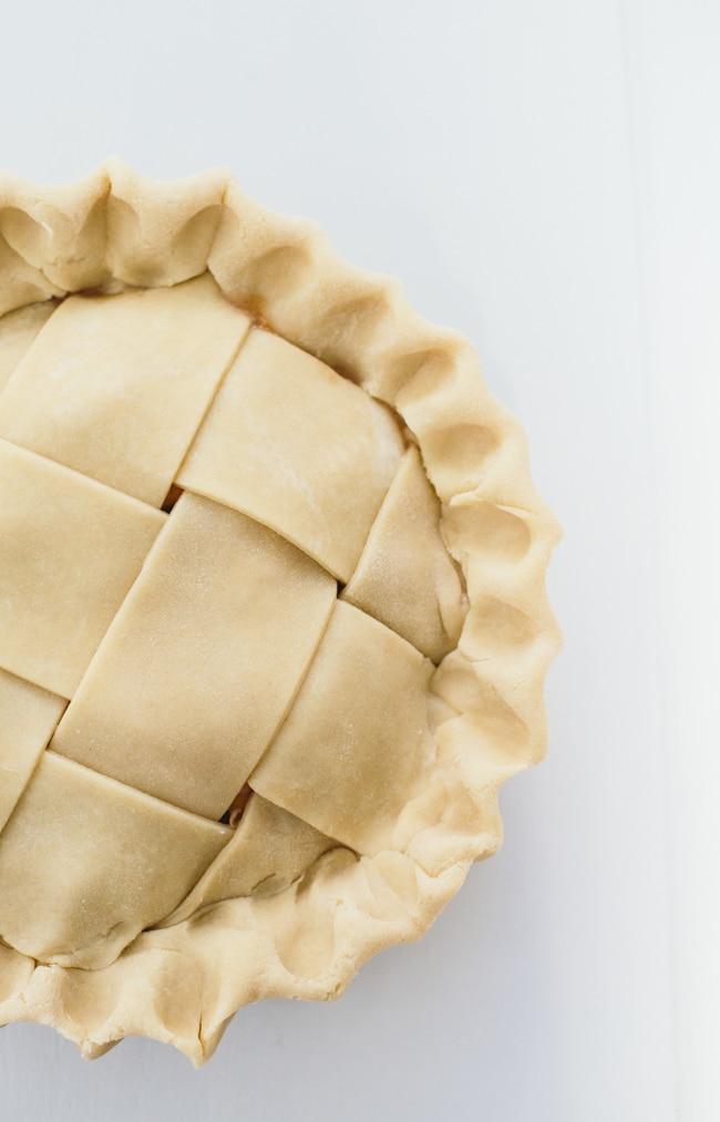 Pear Apple Hard Cider Pie
