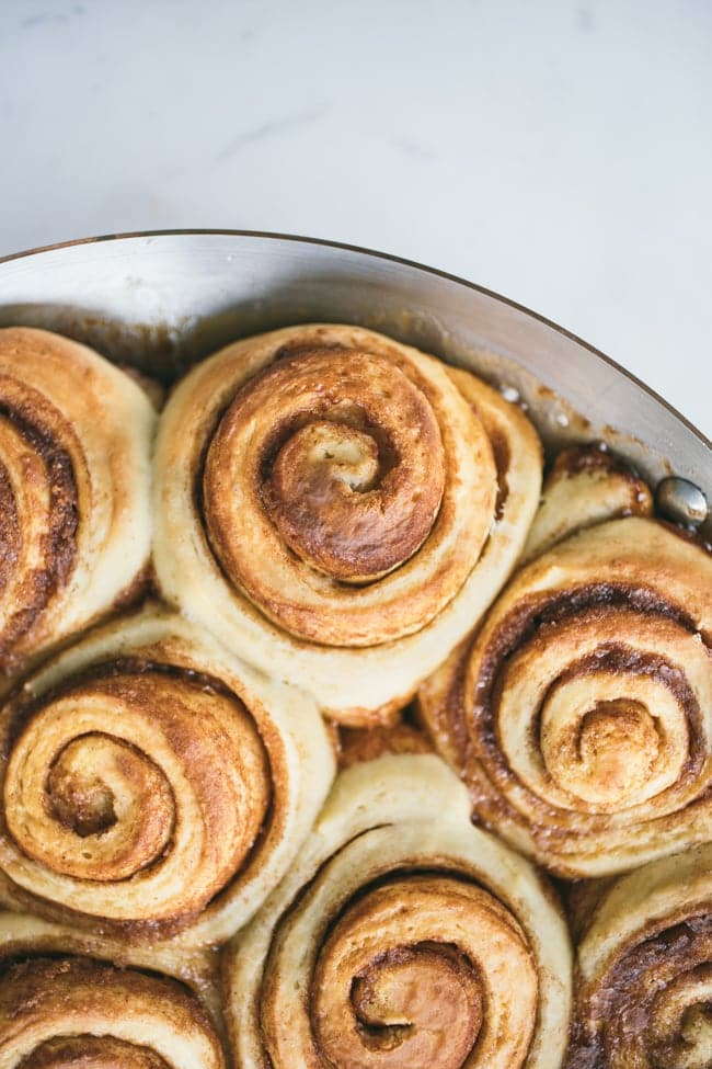 Apple Cider Cinnamon Rolls | Sarah Kieffer | The Vanilla Bean Blog