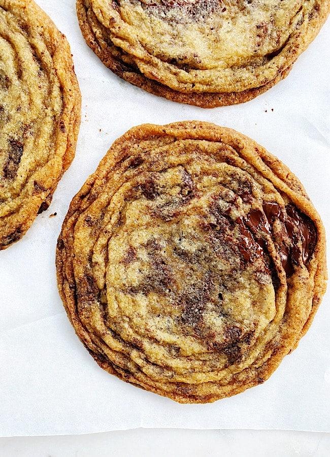 Pan-banging Chocolate Chip Cookies