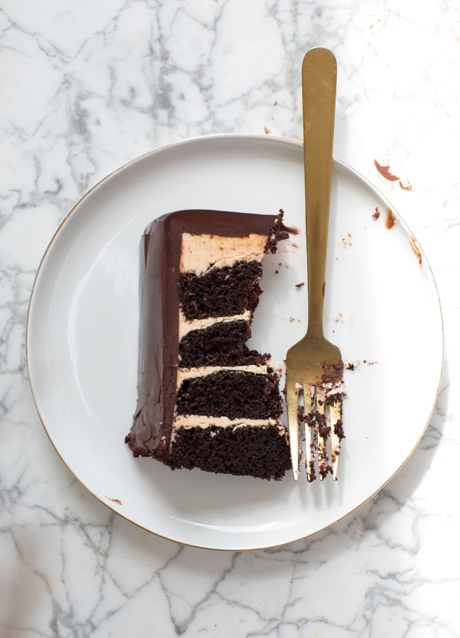 Devil's Food Cake with Ultra Rich Buttercream