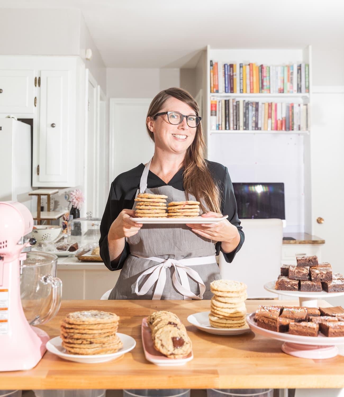 Sarah Kieffer, author of 100 cookies in her kitchen