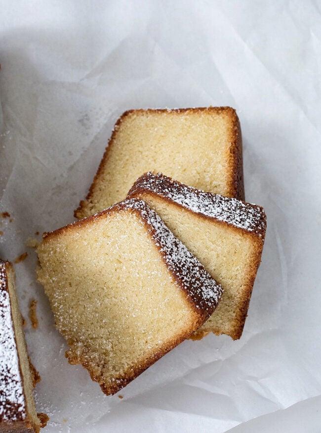 Buttery Vanilla Bundt Cake